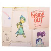 现货 英文原版 Art of Inside Out 头脑特工队原画设定集 奥斯卡