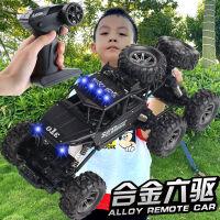 超大儿童遥控车充电动遥控汽车玩具高速四驱越野车男孩合金攀爬车