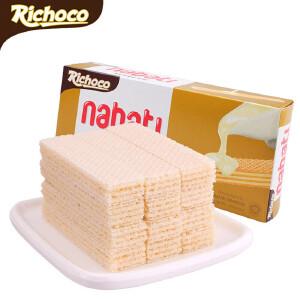 印尼进口 丽巧克纳宝帝香草牛奶味威化饼干 145g