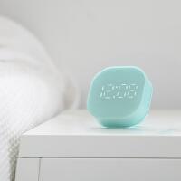 倒计时器小闹钟提醒学生电子厨房时钟儿童可爱简约静音夜光床头