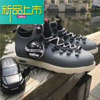 新品上市马丁靴秋冬高帮陈冠希潮鞋可乐鞋男士棉鞋漆皮系带户外短靴