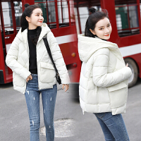2019新款冬季小款韩版修身短款棉衣女轻薄小棉袄显瘦短装外套