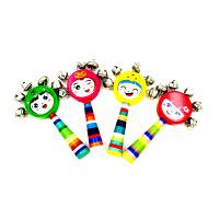 早教新生儿0-3-6-12个月1岁幼儿童婴儿益智玩具手拿手摇铃铛宝宝