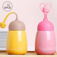 OPUS大肚保温杯不锈钢大容量保温壶便携儿童卡通马克杯可爱茶杯子