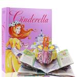 Cinderella: A Pop-Up Fairy Tale 辛德瑞拉-立体折叠书 英文原版,Matthew Rei