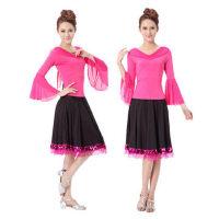 广场舞服装 运动休闲套装 新款舞蹈服装 裙裤拉丁舞成人女跳舞练功服