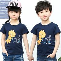 儿童短袖T恤 男童夏装半袖女童童装宝宝上衣打底衫