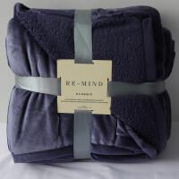 双层毛毯被子加厚冬季珊瑚绒毯子单人宿舍学生午睡沙发毯定制 229cmX260cm(双层大号 5.5斤)