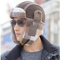 时尚加厚滑雪帽   帽子男    韩版潮雷锋帽   男士时尚护耳冬帽