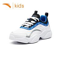 安踏童鞋男童休闲鞋2019秋季新款儿童运动鞋男孩鞋子耐磨31938826