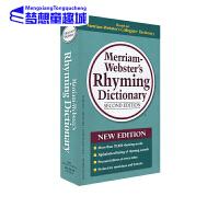 麦林韦氏韵律字典 Merriam Webster's Rhyming Dict 英文原版 押韵音 音节 复合词 品牌名称