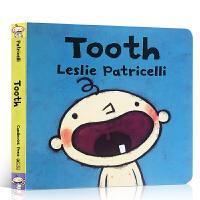 【全店300减80】英文原版进口绘本 Tooth 一根毛 脏小孩 名家 leslie patricelli 小毛孩系列