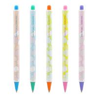 日本国誉(KOKUYO)学生用活动自动铅笔 0.5mm 黄红WSG-PSF105YR