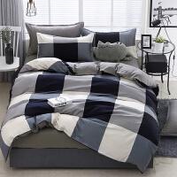 床单三件套学生宿舍单人单件1.8m床上四件1.5m米纯棉男女被套双人