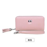女士手拿钱包女长款新款日韩版拉链多功能长款大容量皮夹