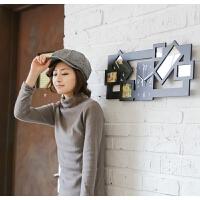 挂钟客厅时尚创意静音相框钟表个性家居装饰时钟卧室影楼