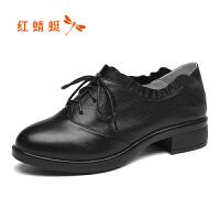 红蜻蜓女鞋秋冬休闲鞋鞋子女WMB8141