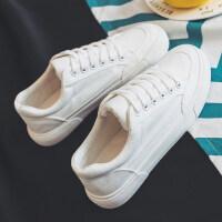 帆布鞋2018冬季韩版小白鞋学生百搭棉鞋休闲白色板鞋