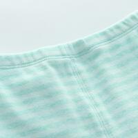 舒棉色织条纹 儿童单条秋裤 宝宝长裤子女 儿童保暖裤男童