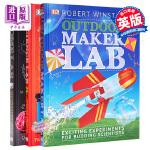 【中商原版】DK STEM大课题系列3册 英文原版 Home/Outdoor Maker/Science Lab 精装