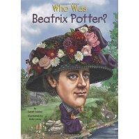 【现货】英文原版 Who Was Beatrix Potter? 碧翠丝波特是谁 名人传记 中小学生读物