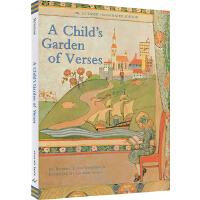 英文原版 诗歌诗词 A Child's Garden of Verses: A Classic Illustrated