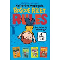 【预订】Roscoe Riley Rules 4 Books in 1! Never Glue Your Friend