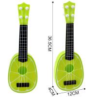 儿童吉他玩具可弹奏尤克里里迷你乐器男女孩宝宝初学者水果小吉他