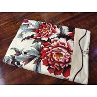 传统国民床单上海老式棉床单加大双人斜纹丝光床单y 其他