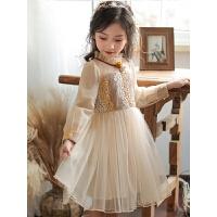 女童连衣裙春装儿童装夏大童裙子春秋小女孩洋气公主裙