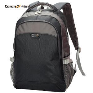 卡拉羊双肩包学生书包韩版大容量校园风新款时尚休闲男女背包C5376
