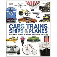 Cars, Trains, Ships and Planes 英文原版交通工具 DK百科系列
