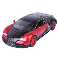 布加迪威龙 1:32布加迪威龙仿真跑车潜龙 仿真赛车儿童玩具合金汽车模型