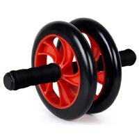 健腹轮 双轮静音健腹器健身减肥巨轮腹肌轮收腹滚轮健身器材腹肌轮