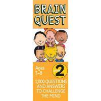 现货 英文原版 Brain Quest Grade 2 益智挑战 二年级 7-8岁