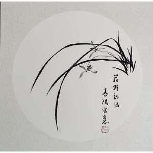 霍春阳_花野韵清_春阳写意_50-50_卡纸_1680