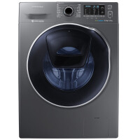 三星(SAMSUNG)9公斤洗烘一体机全自动智能变频节能泡泡净滚筒洗衣机WD90K5410OX/SC