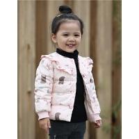 女童秋装宝宝羽绒服内胆中小童装女孩子轻薄款小棉袄外套新款