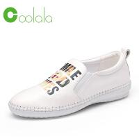 红蜻蜓旗下品牌COOLALA女鞋春季休闲鞋板鞋女鞋子