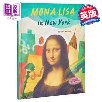 【中商原版】Yevgenia Nayberg:Mona Lisa in New York 蒙娜・丽莎到了纽约 儿童亲子趣