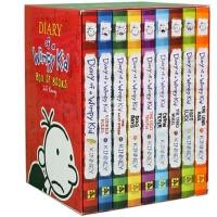 [现货]英文原版 Diary of A Wimpy Kid 1-9 小屁孩日记 9本 套装 全套