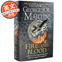 火与血 英文原版 Fire and Blood 冰与火之歌 权力的游戏前传 A Song of Ice and Fire 乔治・马丁 Game of Thrones 坦格利安王朝