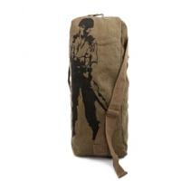 自由兵户外登山包帆布旅行包双肩背包大容量运动包男包女包水桶包