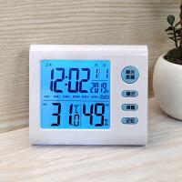 大屏幕室内电子闹钟静音学生用电子钟钟表温湿度计数字时钟