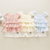 女童套装两件套裙子潮童装洋气时髦女宝宝夏装