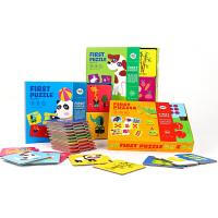 儿童纸质玩具1-2-3岁拼图幼儿配对拼板两岁宝宝早教益智平图