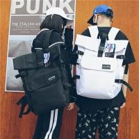 双肩包女韩版15.6寸电脑包高中学生书包男时尚潮流旅行装衣服背包