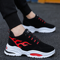青少年增高跑步男鞋子松糕底老爹鞋秋冬季男士厚底运动鞋韩版潮流