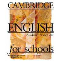 【预订】Cambridge English for Schools: Student's Book One 97805