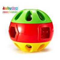 澳贝auby响铃滚滚球463304奥贝儿童学爬行健身玩具0-1岁宝宝